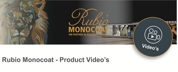 Rubio Monocoat video's